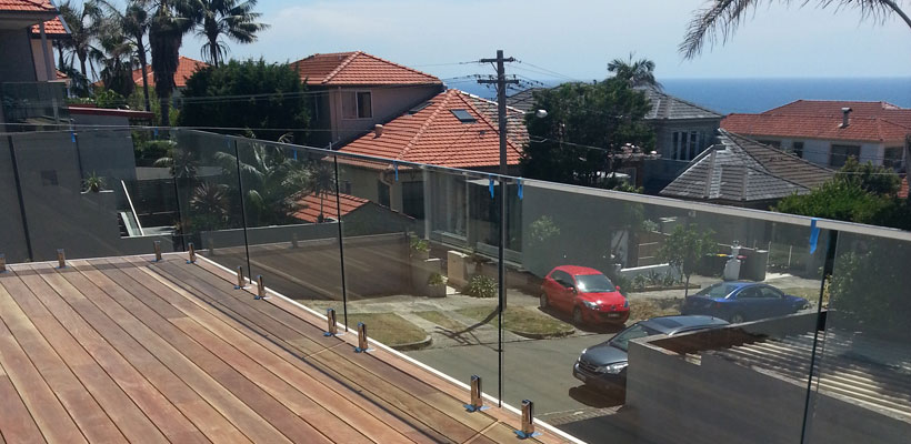 eastern suburbs glass balustrades bondi