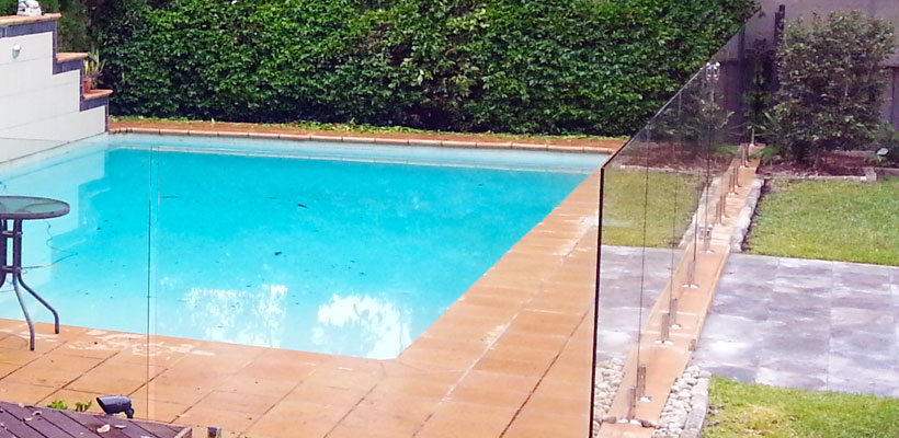 Portfolio Aqua Glass Pool Fencing