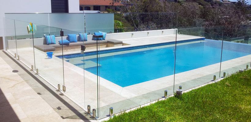 Frameless glass pool fencing Eastern Suburbs. Bondi glass ...