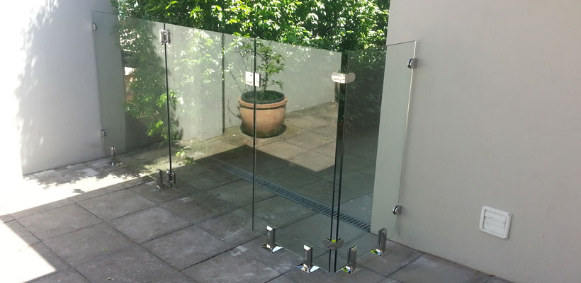 northern beaches glass fencing installation